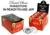 Daniel Stone Rhinestone in Ready-to-Use Jar | SS-5 | 24-Color Collection