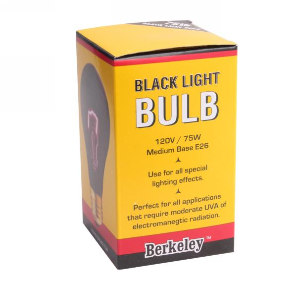 Standard Black Light Bulb - 75W/120V