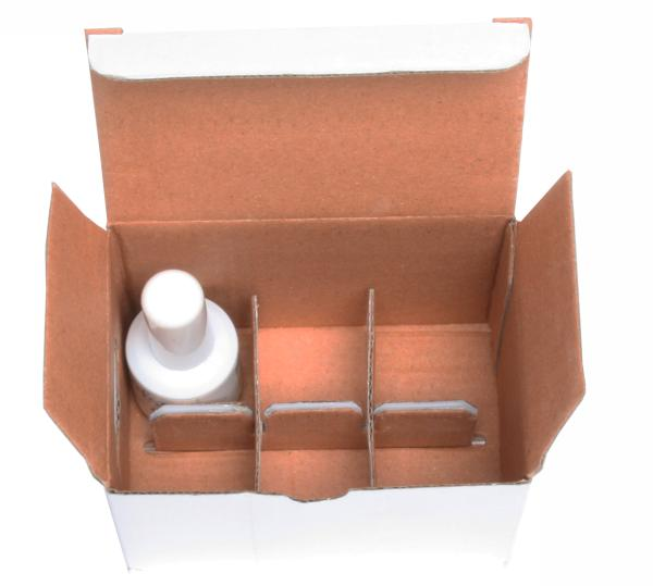 6-Cell Corrugated Box for Nail Polish Bottles