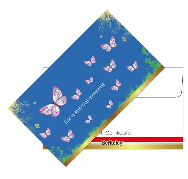 Matching Envelope for Gift Certificate | Design 04