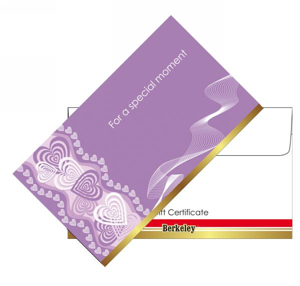 Matching Envelope for Gift Certificate | Design 07