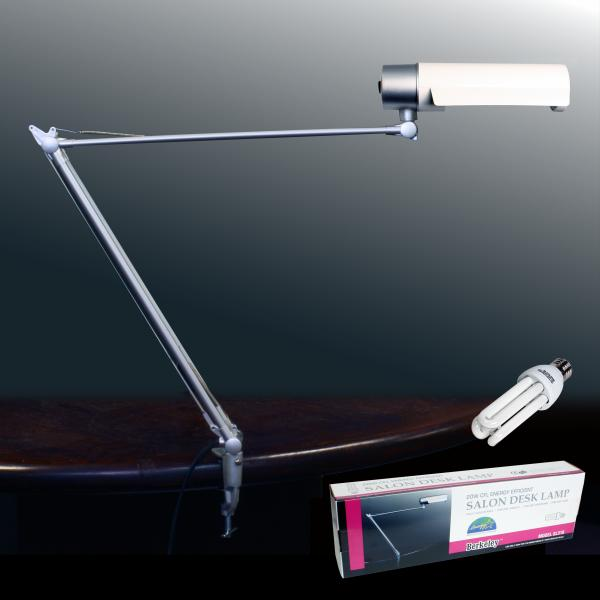 Energy Efficent Salon Desk Lamp with Bulb | 20W | White